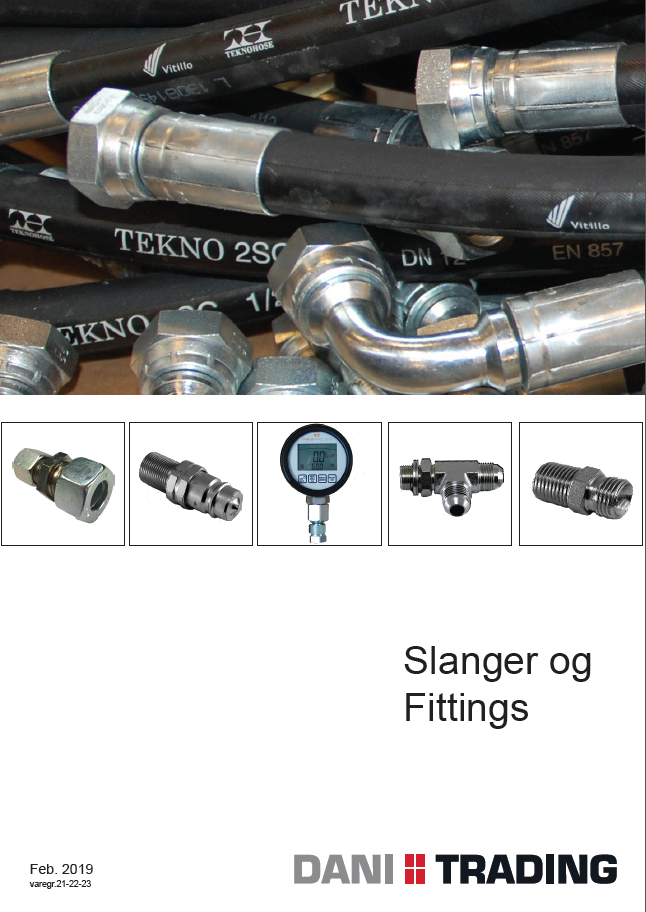 Slange / fittingskatalog